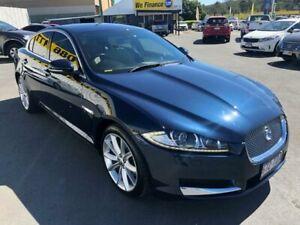 2012 Jaguar XF X250 MY12 Luxury Blue 8 Speed Sports Automatic Sedan Underwood Logan Area Preview