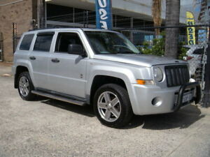 2009 Jeep Patriot MK Sport Silver 6 Speed Manual Wagon Wangara Wanneroo Area Preview
