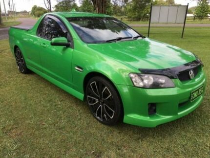 2008 Holden Commodore VE SS Green 6 Speed Manual Utility Tuggerah Wyong Area Preview