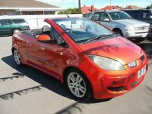 2007 Mitsubishi Colt RZ Turbo Orange 5 Speed Manual Cabriolet Kilkenny Charles Sturt Area Preview