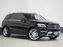 2013 Mercedes-Benz ML 166 350 B.E. (4x4) Obsidian Black 7 Speed Automatic Wagon Bentley Canning Area Preview