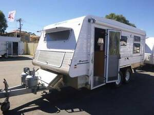 2007 SUPREME GETAWAY 18' OFF ROAD, IND/SUSP, AIR,AWN, EXT SHOWER, Maddington Gosnells Area Preview