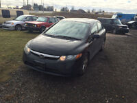 2007 HONDA CIVIC LX GOOD DRIVER OR WINTER BEATER
