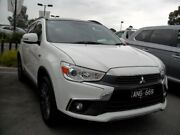 2017 Mitsubishi ASX XC MY17 XLS 2WD White Solid 6 Speed Constant Variable Wagon Knoxfield Knox Area Preview