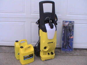 Karcher Model K3.48M Electric Power Washer & Accessories