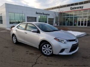 2016 Toyota Corolla 4DR SDN CVT LE Backup Camera, Heated Seats,