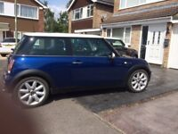 MINI COOPER 1.6 CHILLI PACK LOW MILEAGE 69436 WITH S/H MOT UNTIL JUNE 2019 GOOD RUNNER NICE TIDY CAR