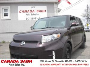 2014 Scion xB, BTOOTH, ONE OWNER, 115K, 12 M WRTY+SAFETY $9990