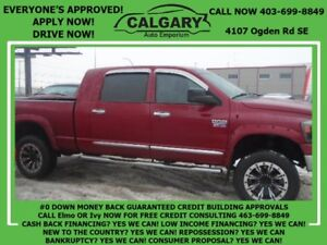 2008 Dodge Ram 3500 Laramie * $28 DOWN EVERYONE APPROVED*
