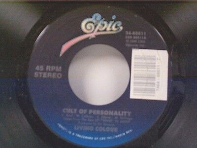 Living Colour  Cult Of Personality   Funny Vibe  45 Near Mint