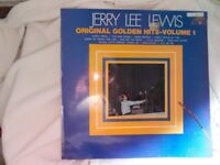 Vinyl LP Original Golden Hits Volume 1 – Jerry Lee Lewis Sun 6467 002 Stereo 1969