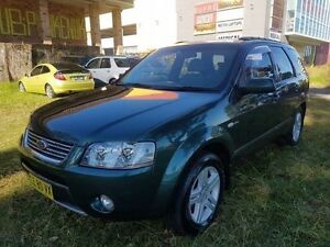 2006 Ford Territory SY Ghia (4x4) Green 6 Speed Auto Seq Sportshift Wagon Campbelltown Campbelltown Area Preview