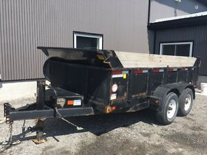 **REPO** 2013 12ft Tandem Axle Heavy Duty Dump Trailer **REPO**
