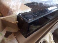 SQUARE EDGE Andromeda Black Sparkle Laminate Kitchen Worktop - Brand New 3 mtrs long worktops