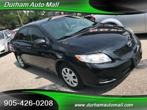 2010 Toyota Corolla SE Only 74000km!