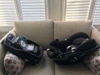 Maxicosi seat & Isofix £60 (and OPTIONAL Babyjogger cradle extra £40)