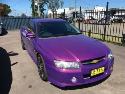 2007 Holden Ute VZ SVZ Purple Manual Utility