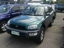 1998 Toyota RAV4 SXA11R Cruiser (4x4) Green 5 Speed Manual Wagon Greenslopes Brisbane South West Preview