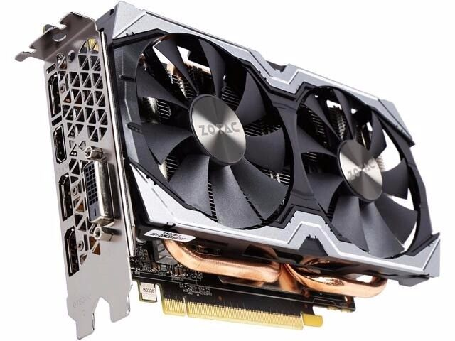NVidia GTX 1070 Zotac Mini Graphics Video card with receipt GPU gaming mining AMD Vega Ti