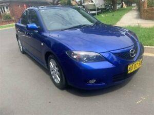 2006 Mazda 3 BK MY06 Upgrade Maxx Sport Blue 5 Speed Manual Sedan Croydon Burwood Area Preview