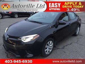 2015 Toyota Corolla ECO CVT Everyone Approved