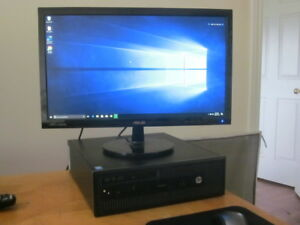 hp prodesk 800 g1 quad core desktop