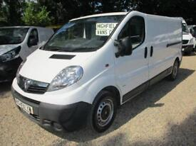 2014 Vauxhall Vivaro 2.0CDTi 115ps 2900 LWB no vat 70000 miles GUARANTEED