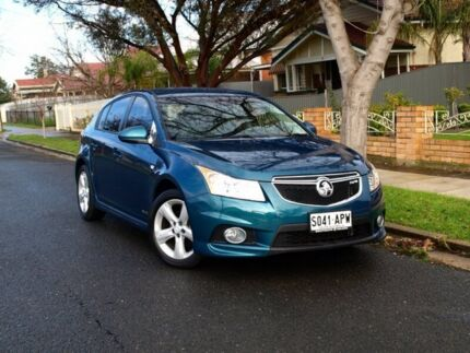 2012 Holden Cruze JH Series II MY12 SRi Blue 6 Speed Sports Automatic Hatchback