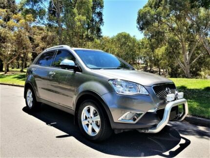 2011 Ssangyong Korando C200 S 2WD Bronze 6 Speed Sports Automatic Wagon Medindie Walkerville Area Preview
