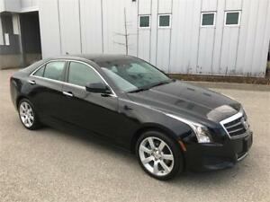 2014 CADILLAC ATS LEATHER SUNROOF AUTOMATIC 79KM