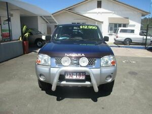 2003 Nissan Navara D22 ST-R (4x4) Blue 5 Speed Manual Dual Cab Pick-up Nambour Maroochydore Area Preview