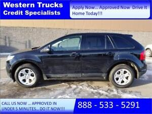 2012 Ford Edge SUV ~ Backup Cam ~ No Payments 90 days $160 B/W
