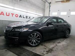 2015 Acura TLX V6 ELITE PKG. 39,900KM NAVIGATION CAMERA 70$/SEM