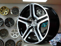 18 inch Benz Rep Wheels ( 4 New) Z Racing -- 905 673 2828