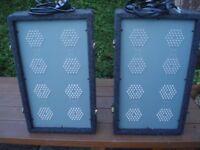 LED LIGHT BOXES - SOUNDLAB 8s SET - BUILT IN CONTROLLER
