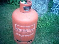 Orange 13kg Propane Gas Bottle