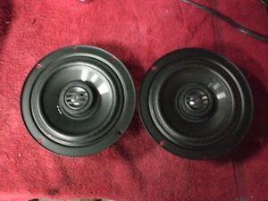 20014-2015 Harley Streetglide Front Speakers With Grill Covers