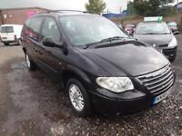 CHRYSLER GRAND VOYAGER 2.8 CRD LX AUTO~56/2006~AUTOMATIC~METALLIC BLACK~7 SEATS
