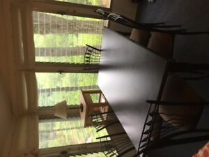 Table set and 6 chairs
