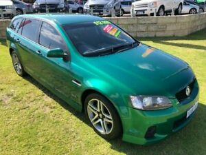2011 Holden Commodore VE II MY12 SV6 Sportwagon Green 6 Speed Sports Automatic Wagon Wangara Wanneroo Area Preview
