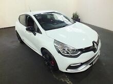 2014 Renault Clio X98 RS 200 Cup White 6 Speed Automatic Hatchback Clemton Park Canterbury Area Preview