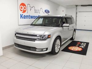 2013 Ford Flex LIMITED! Ecoboost, Leather, NAV, DVD's, Pano Roof