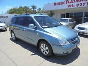 2008 Kia Grand Carnival VQ MY07 EX Blue 5 Speed Sports Automatic Wagon Bayswater Bayswater Area Preview