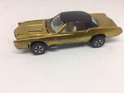 Hot Wheels Redline Custom Eldorado Metallic Gold 1968 Sweet Sixteen EXC