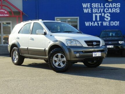 2005 Kia Sorento BL MY05 EX White 5 Speed Manual Wagon Welshpool Canning Area Preview