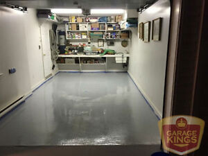 Garage Kings - Professionally Installed Garage Floor Coatings