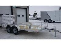 LIGHTER WEIGHT 14' LANDSCAPE/UTILITY TRAILER -IN STOCK LOW PRICE