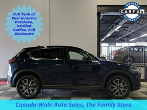 2018 Mazda CX-5 AWD,GT, Navigation, Sunroof, Heated Seats, Leath