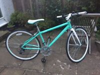 Barracuda Cetus girls, road racing bike, turquoise, lightweight, 700 28C. Excellent condition.