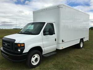 2015 Ford E-450 Cube Van w/Shelving!! Only 80KM!